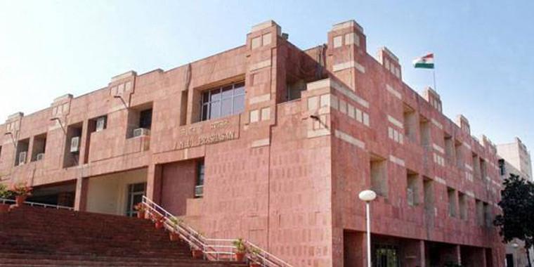 जेएनयू में कश्मीरी छात्रों ने केंद्रीय मंत्री जितेंद्र सिंह का किया विरोध