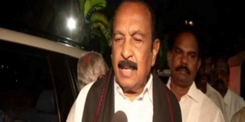 Tamil Nadu politician Vaiko sentenced to 1 year in jail for sedition