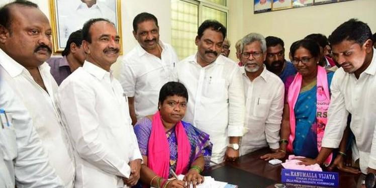 Zilla Parishad chairpersons sworn in