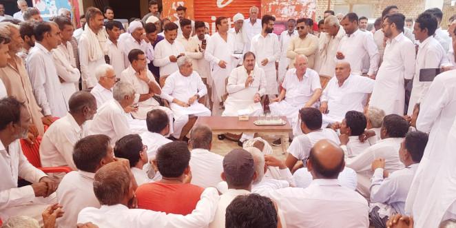 भाजपा सरकार ने किसी का भला नहीं किया: अभय सिंह चौटाला