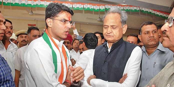 No end to Congress infighting in Rajasthan: CM Gehlot camps in Delhi, Deputy CM Sachin Pilot takes to field