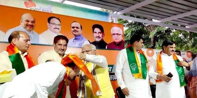 पूरे दिन विधानसभा में रहे, शाम को BJP में शामिल हो गए चार और विधायक