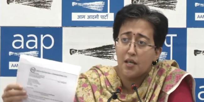 'मेट्रो मैन' के कंधे से बंदूक चला रही बीजेपी, महिलाओं के लिए फ्री सेवा पर AAP का पलटवार