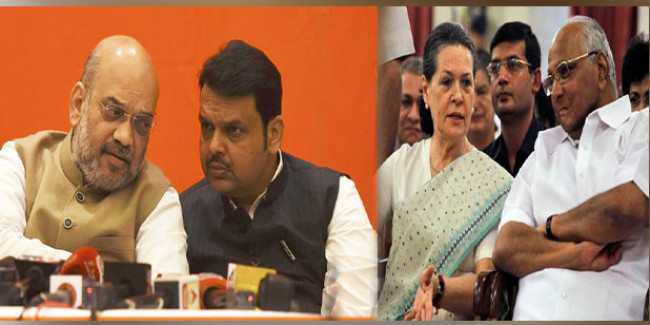 महाराष्ट्र का सियासी दंगल, आज शाह से मिलेंगे फडणवीस, बन सकता है नई सरकार का फॉर्मूला