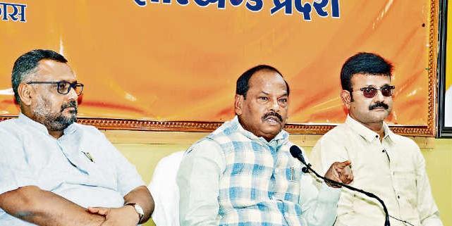 सुरक्षा व विकास के मुद्दे पर लोगों ने फिर लगायी मुहर : रघुवर दास