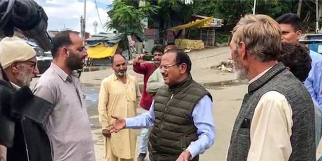 अजीत डोभाल ने किया कश्मीर घाटी का हवाई सर्वेक्षण, सुरक्षा स्थिति का जायजा लिया