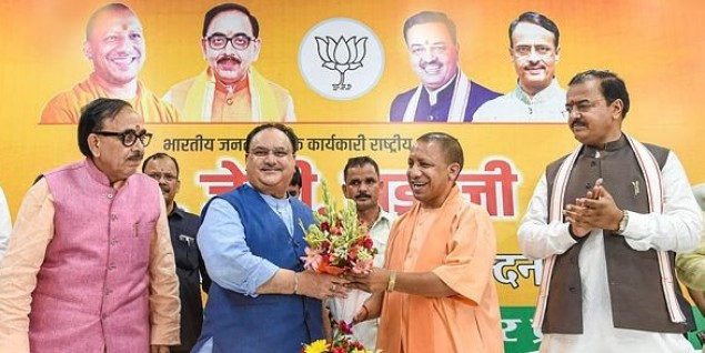 BJP reaching every household ahead of UP assembly bypolls