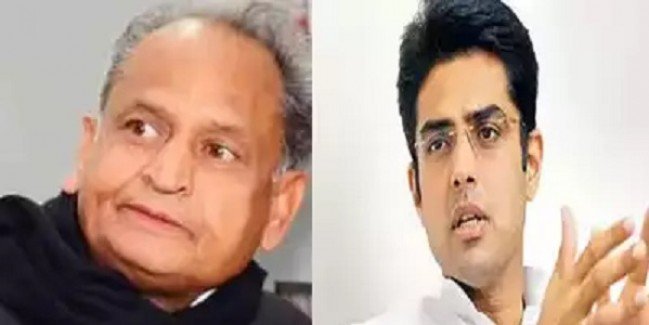 राजस्थान कांग्रेस में खींचतानः दो खेमे में बंटी पार्टी, एक दूसरे से कन्नी काट रहे गहलोत और पायलट