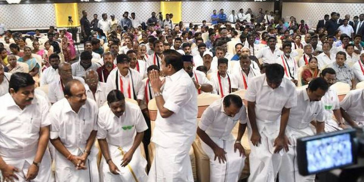 Several AMMK members join AIADMK in Vellore