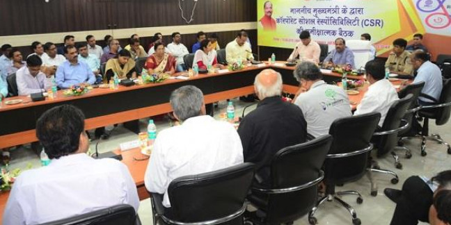 मुख्यमंत्री ने जमशेदपुर में की सीएसआर के तहत किए गए कार्यों की समीक्षा