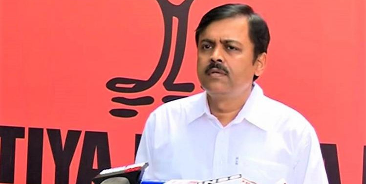 No alliance, but ready to talk merger with Naidu's TDP: BJP MP GVL Narasimha Rao