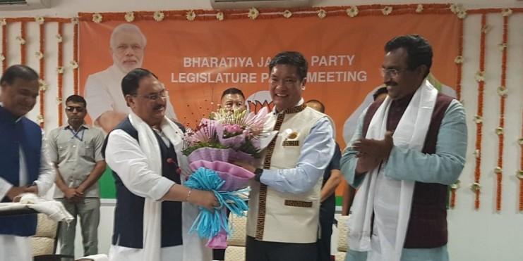 Pema Khandu Sworn-in as Arunachal Pradesh Chief Minister