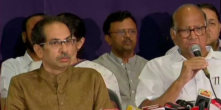 This is a Political Surgical Strike on Us: Uddhav Thackeray