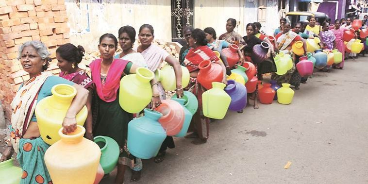 Water crisis in Tamil Nadu: Clashes erupt in Chennai, IT firms cut down operations