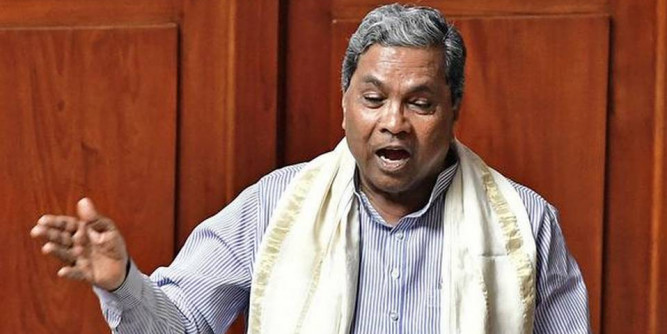 CM lying about taking my suggestion: Siddaramaiah