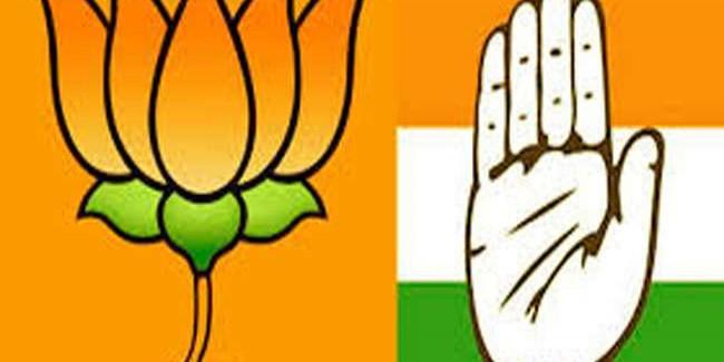 गुजरात उपचुनाव में तीन-तीन सीटों पर भाजपा व कांग्रेस की जीत