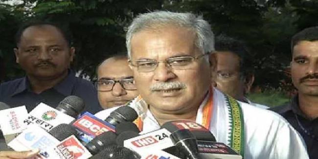 CM बघेल का तंज- BJP डर रही है, इसलिए चुनाव न लड़ने का बहाना बना रही