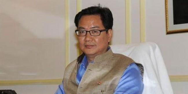 Rijiju thanks predecessor Rathore; vows to work with dedication