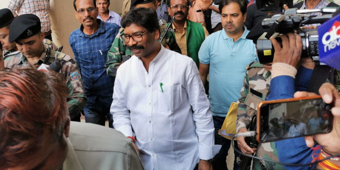 Hemant Soren to be the Chief Ministerial Face of Jharkhand Polls
