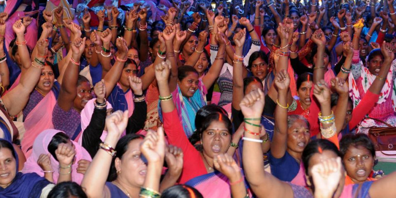 Aaganwadi workers in Jharkhand call off strike, govt to consider pay hike