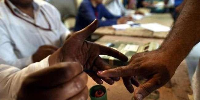 Lok Sabha Election 2019: मतदान के दौरान गलत अंगुली पर लगा दी स्याही, दो कर्मचारी निलंबित