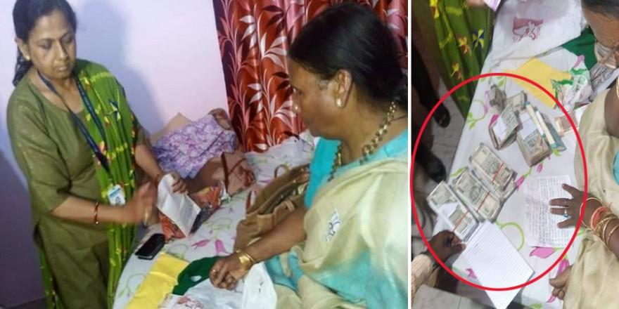 भाजपा उम्मीदवार रमा देवी के कमरे से लाखों रुपये बरामद, मामला दर्ज