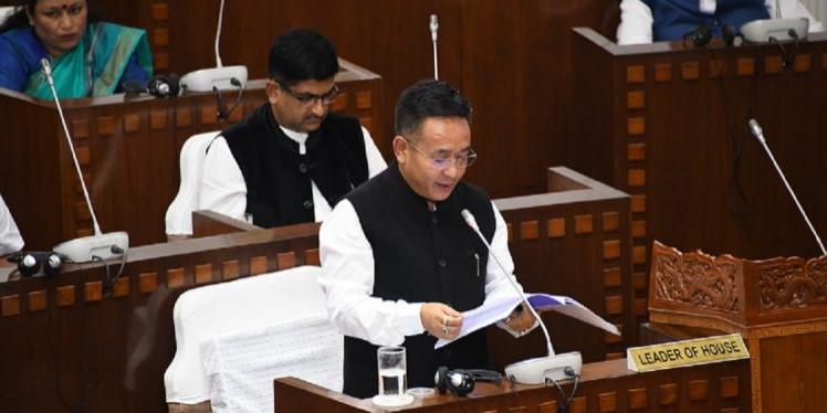 Sikkim CM presents maiden budget; white paper on deficits