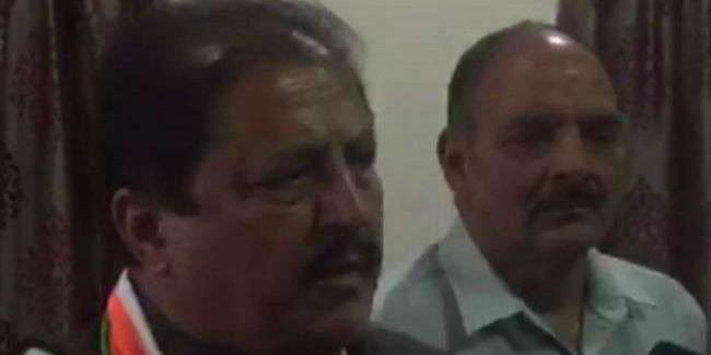 मोदी हार की घबराहट में कांग्रेस के दिवंगत नेताओं पर कर रहे अभद्र बयानबाजी : रामलाल