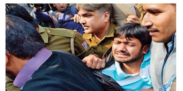 दिल्ली पुलिस-वकील मामले पर कन्हैया का छलका दर्द !