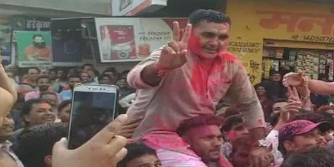क्रॉस वोटिंग के बावजूद हनुमानगढ़ नगर परिषद के उपसभापति बने कांग्रेस के अनिल खीचड़