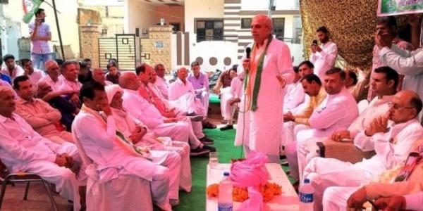 कांग्रेस सरकार बनने पर 24 घंटे में होगा किसानों का कर्जा माफ : अरोड़ा