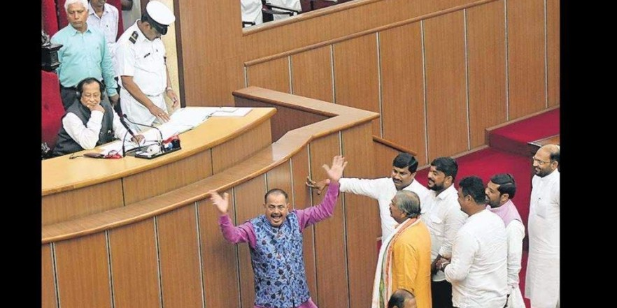 Day one of Odisha Assembly budget session marks row over leader of opposition