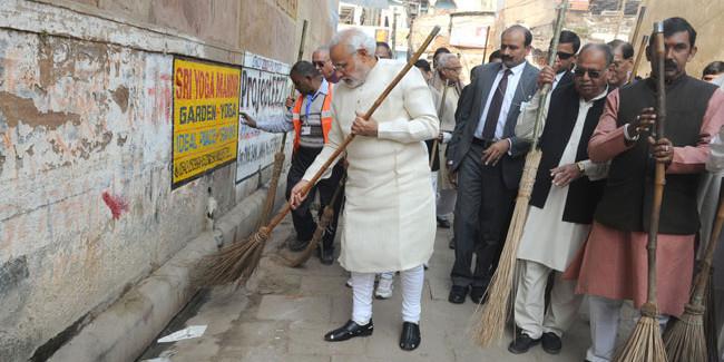 प्रधानमंत्री मोदी को स्वच्छता मुहिम के लिए मिलेगा ग्लोबल गोलकीपर अवॉर्ड