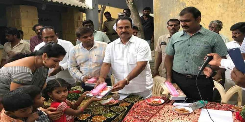 CM committed to strengthening government schools: Chittoor MLA Dr A Srinivasulu