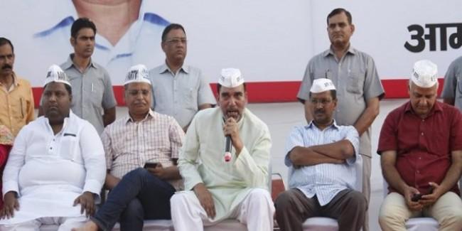 लोकसभा चुनाव में करारी हार के बाद अब AAP का नया नारा- 'दिल्ली में तो केजरीवाल'