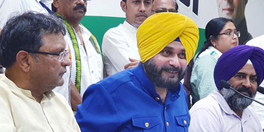 बिहार में नवजोत सिंह सिद्धू का विवादित भाषण, धर्म के आधार पर मुसलमानों से वोट की अपील