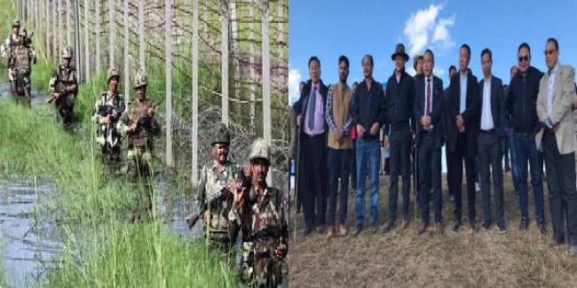 Nagaland border tension: Ministerial team visits Khezhakeno