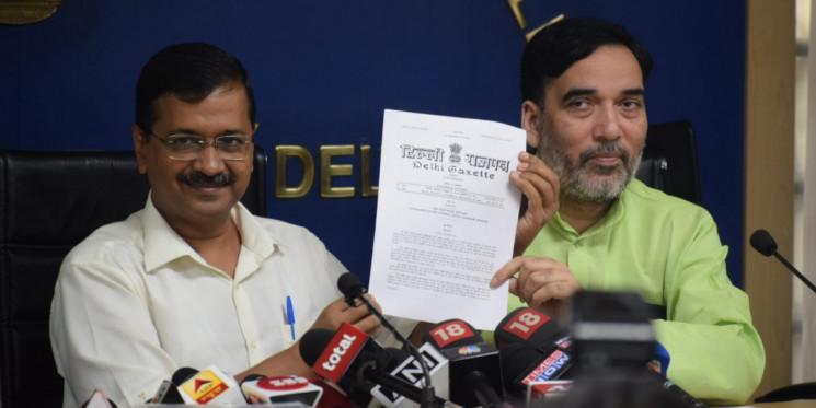 केजरीवाल सरकार का दिल्ली के मजदूरों को बड़ा तोहफा, बढ़ाया न्यूनतम वेतन, 50 लाख कर्मचारियों को होगा फायदा