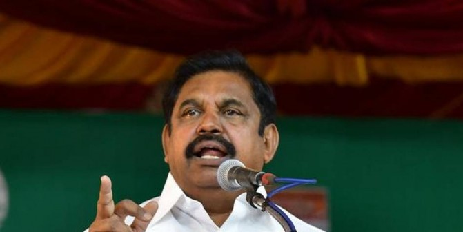 Salem-Chennai green corridor an essential project, says TN Chief Minister Palaniswami
