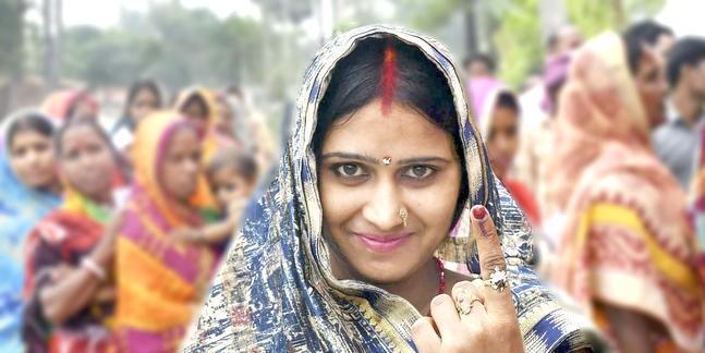 बिहार के पांच लोकसभा क्षेत्रों में शाम 5 बजे तक 53.36 प्रतिशत मतदान