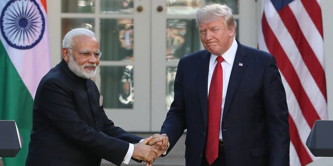 भारत और पाकिस्तान हैं परमाणु शक्तियां, दोनों देशों को कश्मीर मुद्दा सुलझा लेना चाहिए :ट्रंप