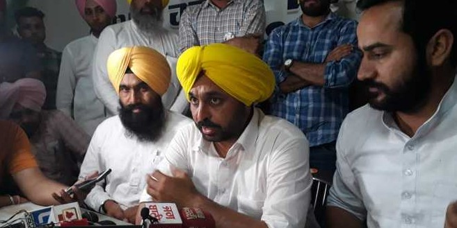 Cong offered Rs 10 cr, plum post to our MLA, claims Bhagwant