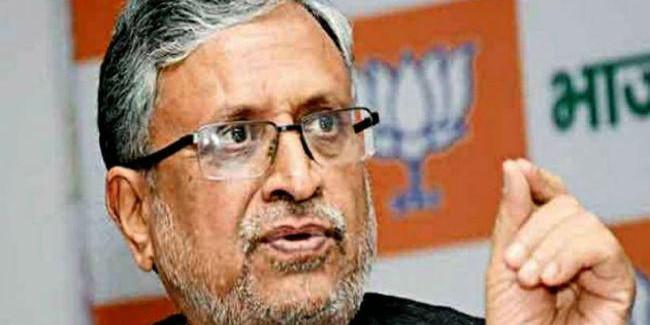 370 के मामले में कांग्रेस की भूमिका ठीक नहीं : सुशील मोदी