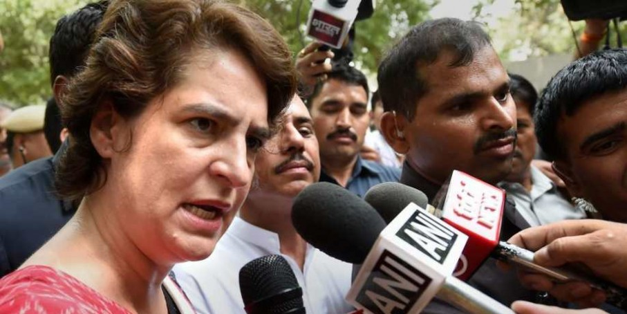 प्रियंका गांधी ने बीमार बच्ची के इलाज के लिए योगी आदित्यनाथ से की अपील, कही यह बात...