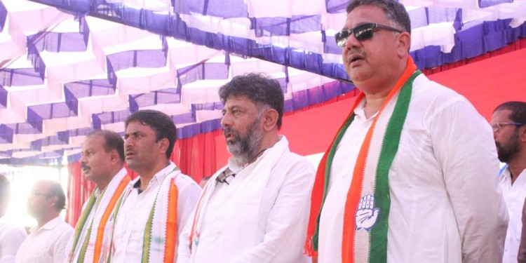 Congress leader DK Shivakumar Hospitalized