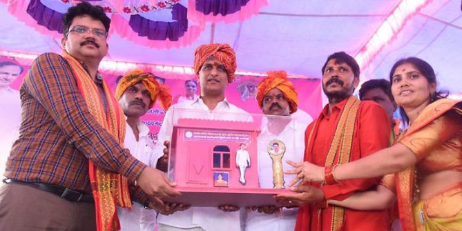 TRS govt. given a new definition to welfare scheme: T Harish Rao