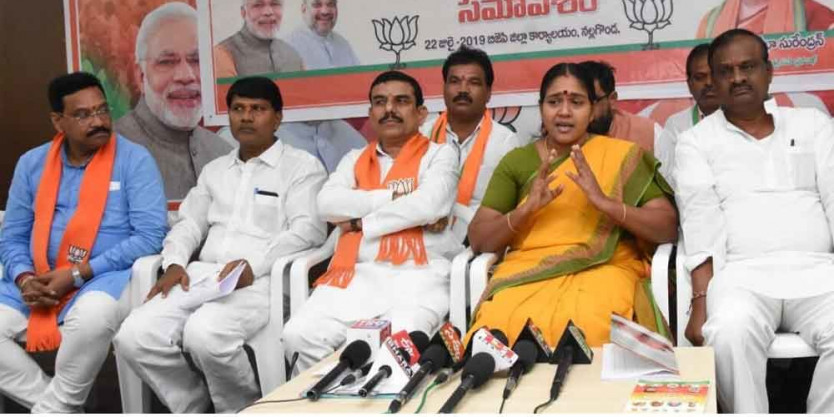 Prove party's mettle in civic polls: BJP leader Shobha Surendran
