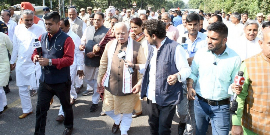 "Stubble Burning In Haryana ""Much Lower"" Than Punjab, Says ML Khattar"