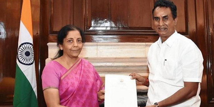 Velumani meets Union Finance Minister to seek release of funds