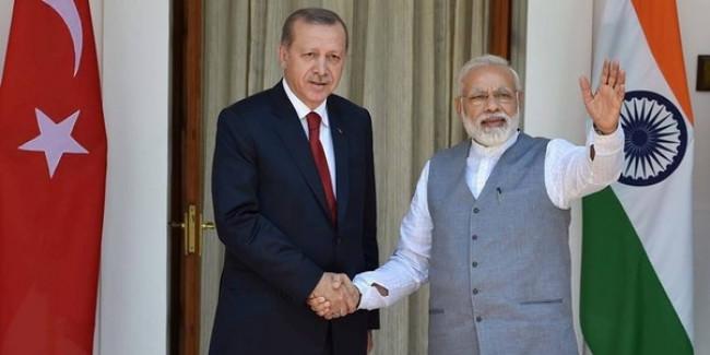 कश्मीर मामले में पाकिस्तान का समर्थन करने वाले तुर्की को भारत ने दी नसीहत